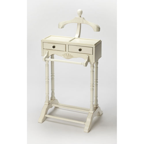 Winsome Wood Valet Stand With Mirror Drawer And Castors