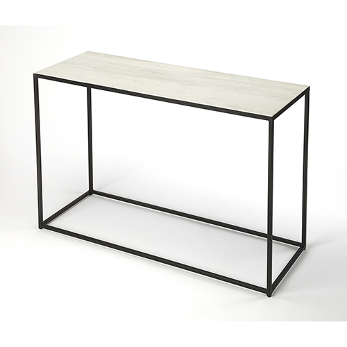 Butler Specialty Company Phinney Marble and Metal Console Table