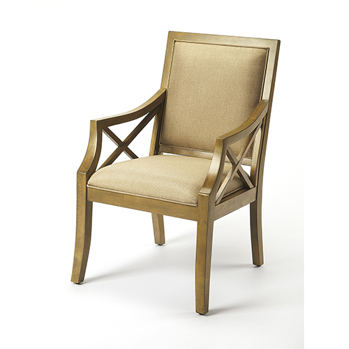Butler Harcourt Cappucino Accent Chair