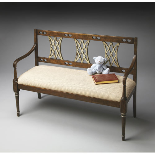 Butler Specialty Company Artists Originals Appaloosa Bench