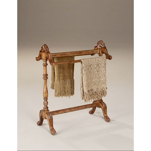 Butler Specialty Company Masterpiece Vintage Oak Blanket Stand