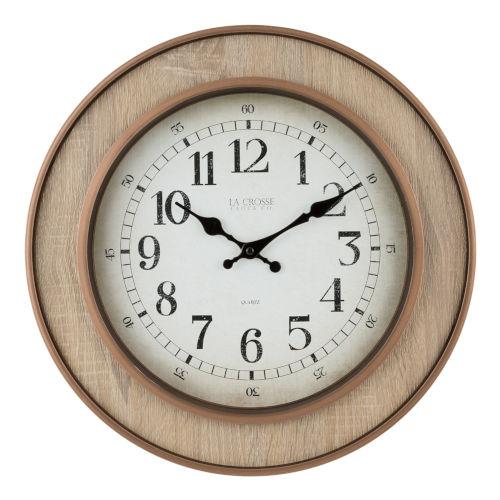 Natural Analog Wall Clock