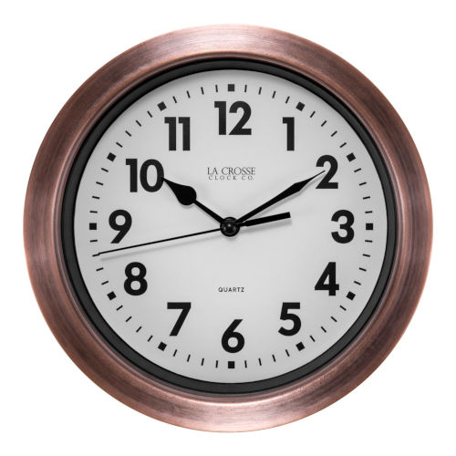 Copper Analog Wall Clock