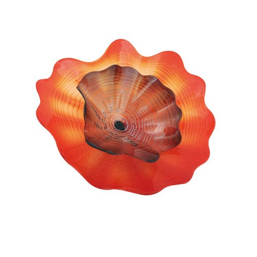 Blooming Lotus Double Wall Plate - Large