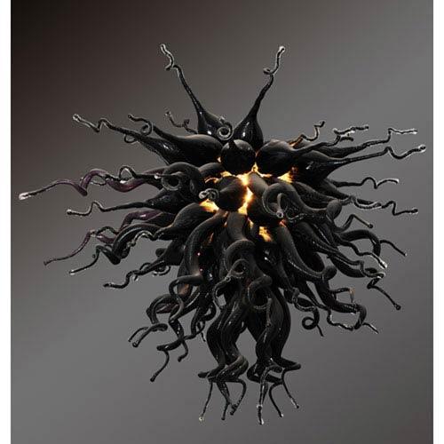 Mini Black Obsidian Chandelier
