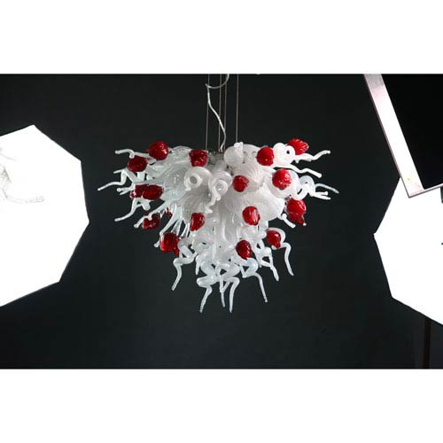 Viz Art Glass Small Valentine Chandelier