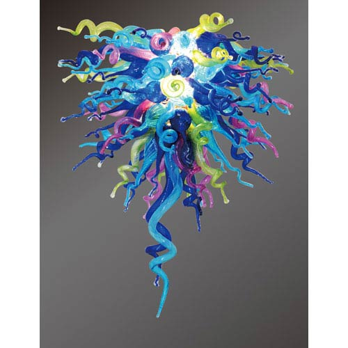 Colorful Classic Wonders of the Sea Small Chandelier