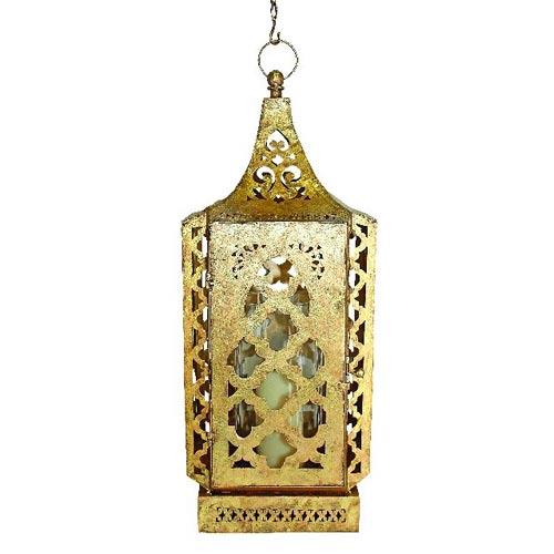 Hexagonal Moroccan Style Lantern