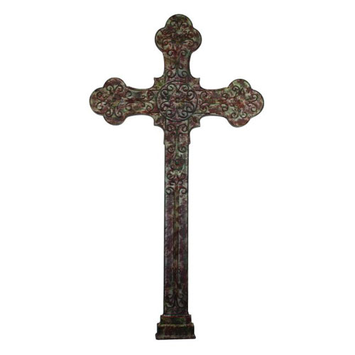 Brown Taupe Wall Cross