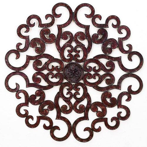 Medallion Brown Taupe Wall Grille