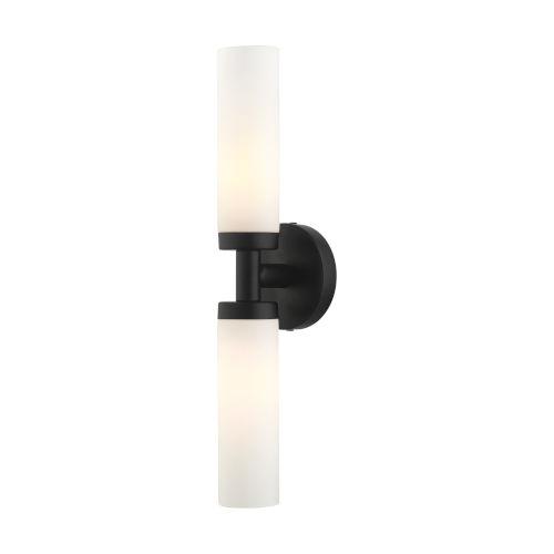 Aero Black Two-Light ADA Wall Sconce