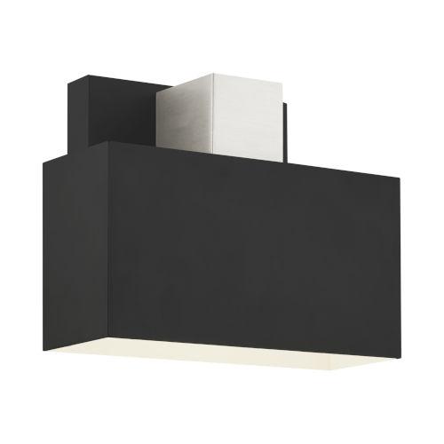 Lynx Black One-Light Outdoor ADA Wall Sconce