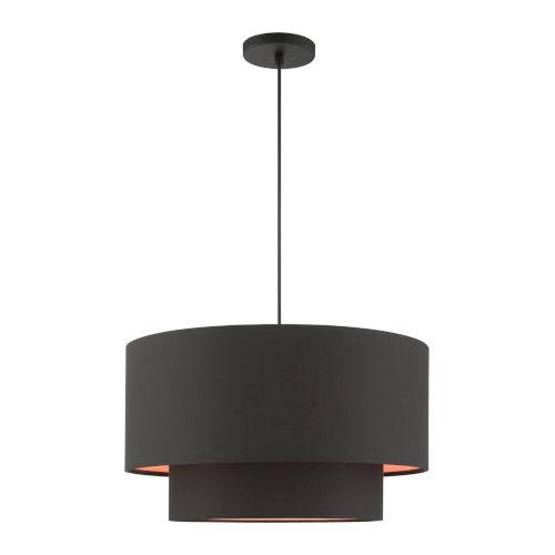 Sentosa Black 20-Inch Three-Light Pendant