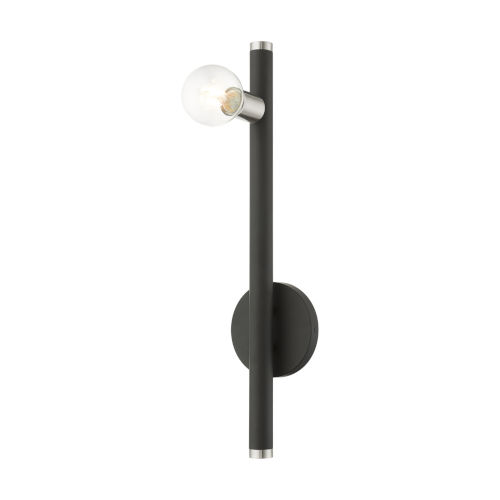 Bannister Black One-Light Wall Sconce