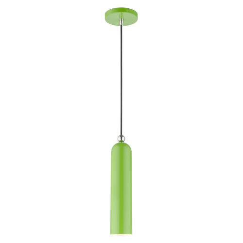 Ardmore Shiny Apple Green One-Light Mini Pendant