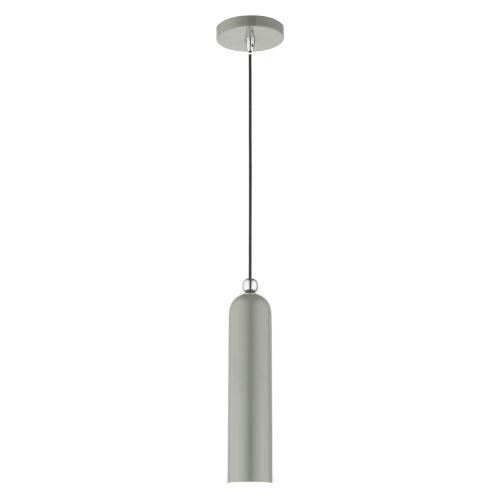 Ardmore Shiny Light Gray One-Light Mini Pendant