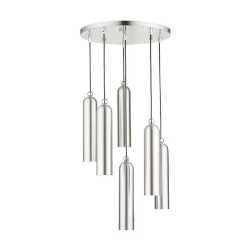 Ardmore Brushed Nickel Six-Light Pendant