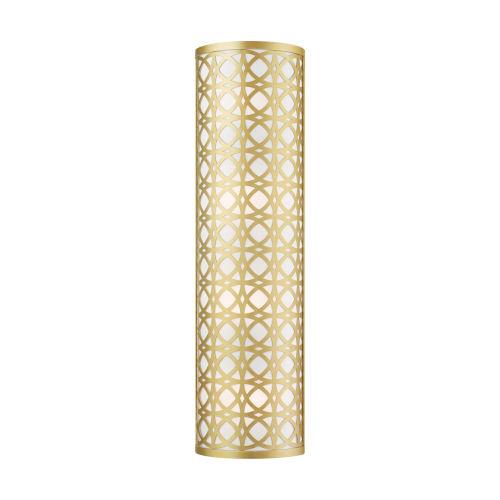 Calinda Soft Gold Four-Light ADA Wall Sconce