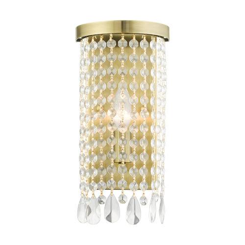 Elizabeth Antique Brass One-Light ADA Wall Sconce