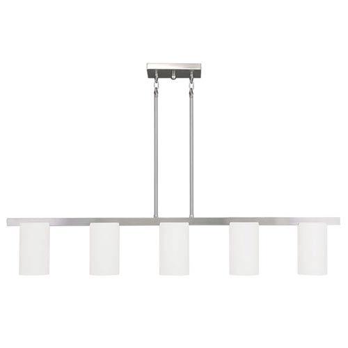 Livex Lighting Astoria Brushed Nickel 4-Inch Five-Light Chandelier