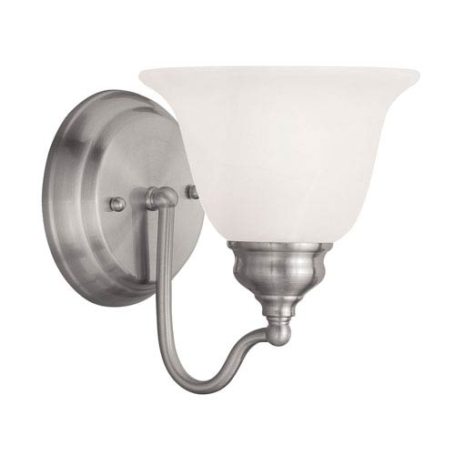 Essex Brushed Nickel 6.5-Inch One-Light Bath Light