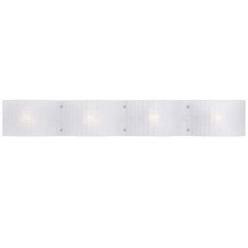 Luna Chrome 29-Inch Four-Light Bath Light