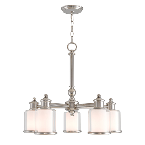 dinette lighting fixtures. Wonderful Fixtures Livex Lighting Middlebush Polished Nickel FiveLight 25Inch Dinette  Chandelier And Fixtures