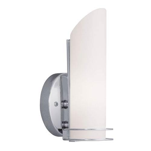 Livex Lighting Pelham Chrome Single Light Bath Fixture