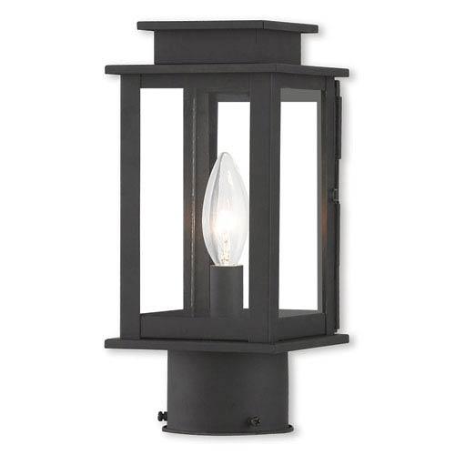 Princeton Black One-Light 5-Inch Post Lantern