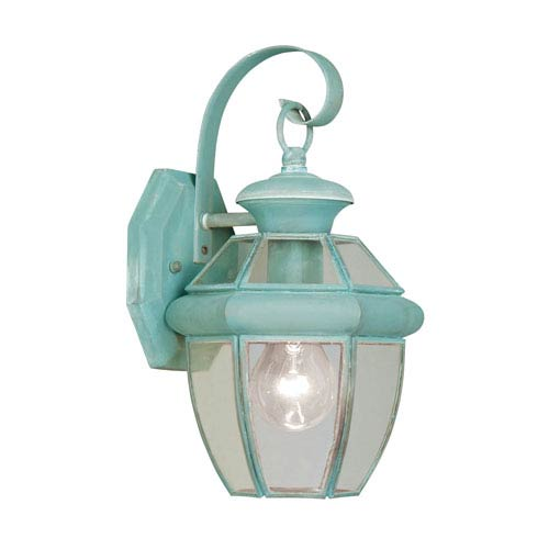 Monterey Verdigris One-Light Outdoor Wall Light