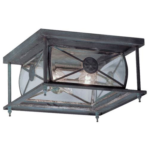 Providence Charcoal Outdoor Flush Mount