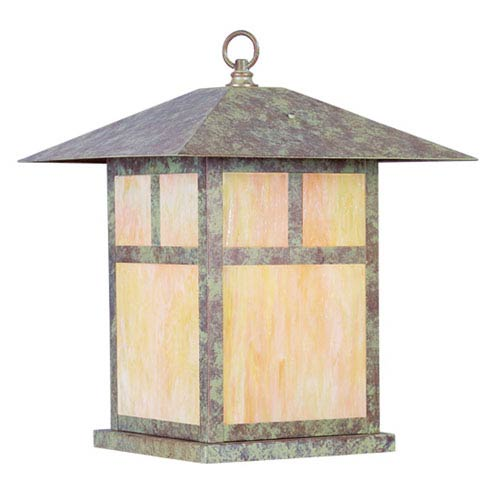 Montclair Mission Verde Patina Outdoor Hanging Lantern