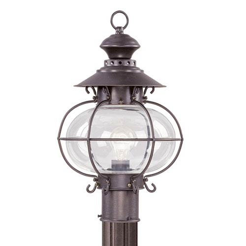 Harbor Bronze Outdoor Post Lantern