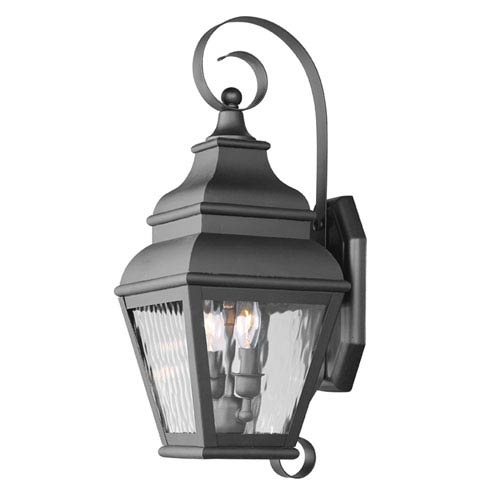 Exeter Two-Light Outdoor Wall Mount