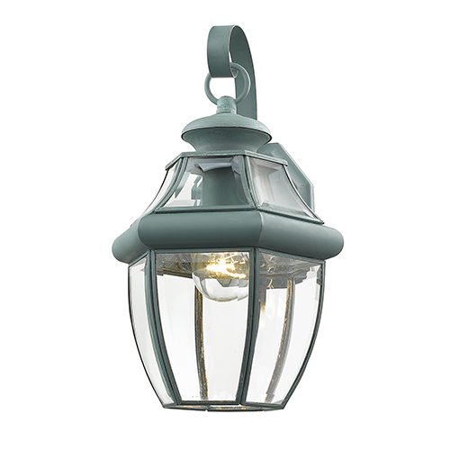 Monterey Verdigris One-Light Outdoor Fixture