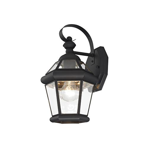 Georgetown Black One-Light Outdoor Fixture