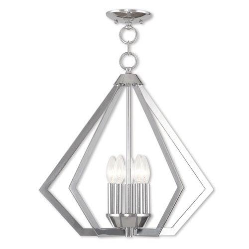 Livex Lighting Prism Polished Chrome Five-Light Pendant