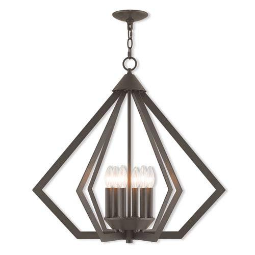 6 light prism chandelier bellacor livex lighting prism bronze 26 inch six light chandelier aloadofball Gallery