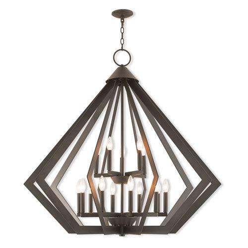 6 light prism chandelier bellacor livex lighting prism bronze 42 inch fifteen light foyer chandelier aloadofball Gallery