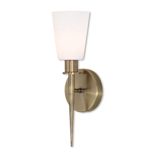 Witten Antique Brass 13-Inch One-Light Wall Sconce