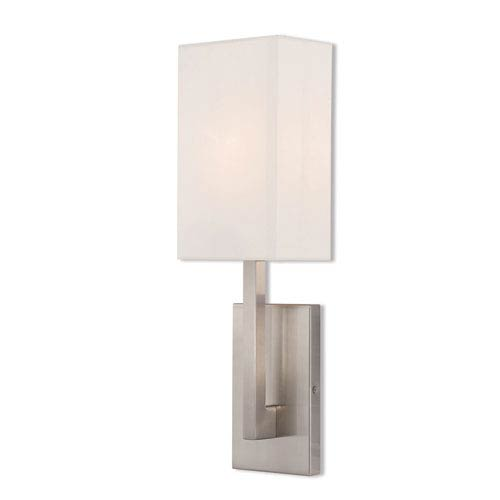 Hayworth Brushed Nickel 6-Inch One-Light Wall Sconce