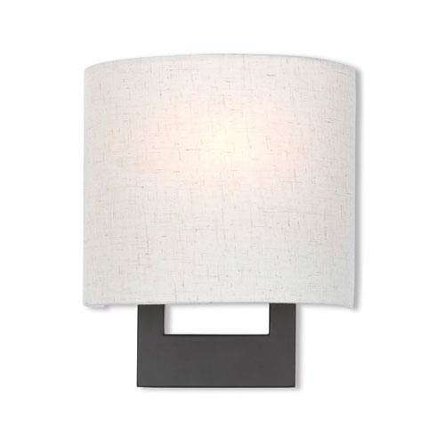 Hayworth Bronze 8-Inch One-Light Wall Sconce