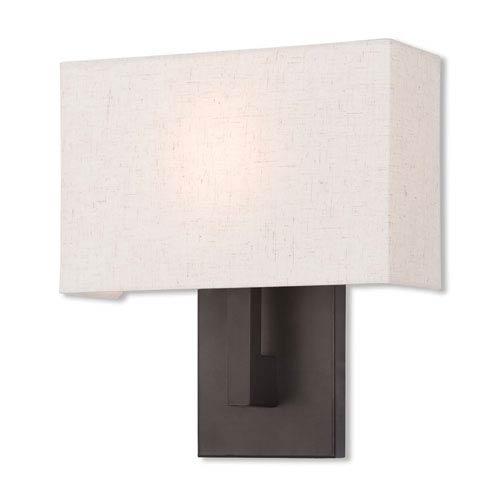 Livex Lighting Hayworth Bronze 11-Inch One-Light Wall Sconce
