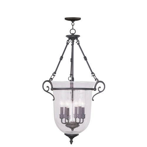 Livex Lighting Legacy Bronze Six-Light Chain Hang