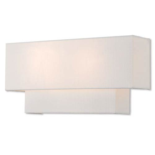 Claremont Brushed Nickel 16-Inch Two-Light Wall Sconce