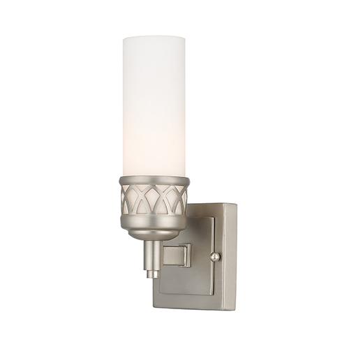 Westfield Brushed Nickel One-Light Bath Light