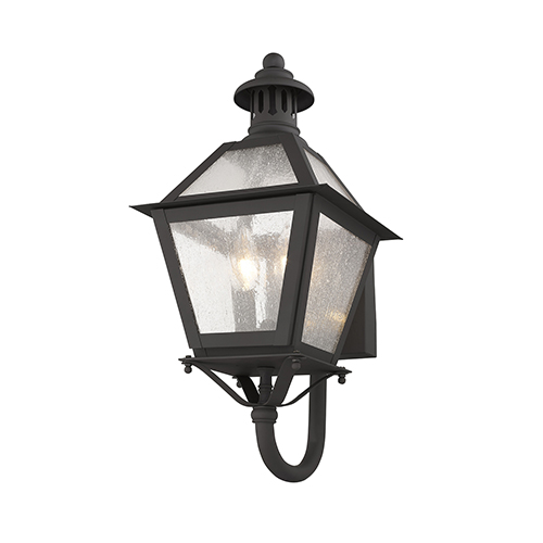 Livex Lighting Waldwick Bronze Two-Light 18.5-Inch Outdoor Wall Lantern