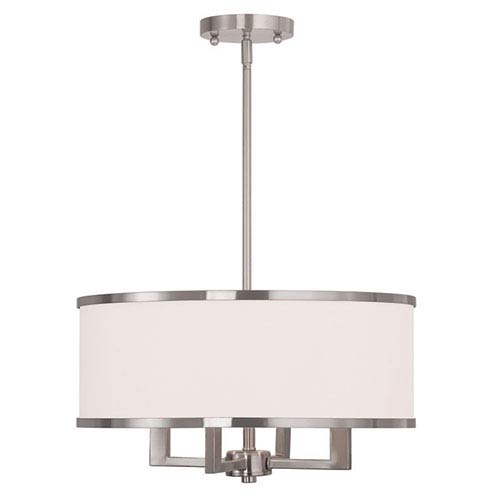 Nickel Brushed Scandinavian Pendant