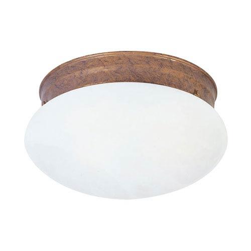 Livex Lighting Home Basics Weathered Brick Single Light Ceiling Mount