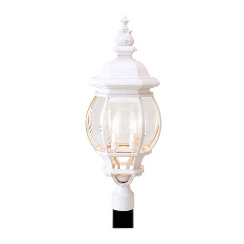 Frontenac White Outdoor Lantern